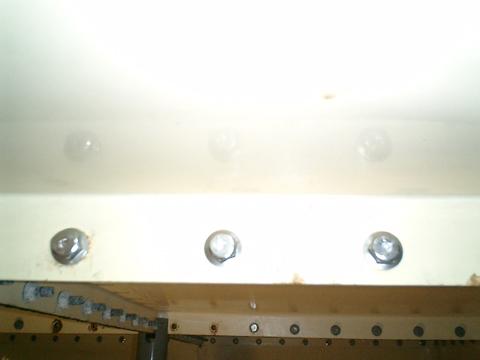 受水槽水漏れ対策工事2