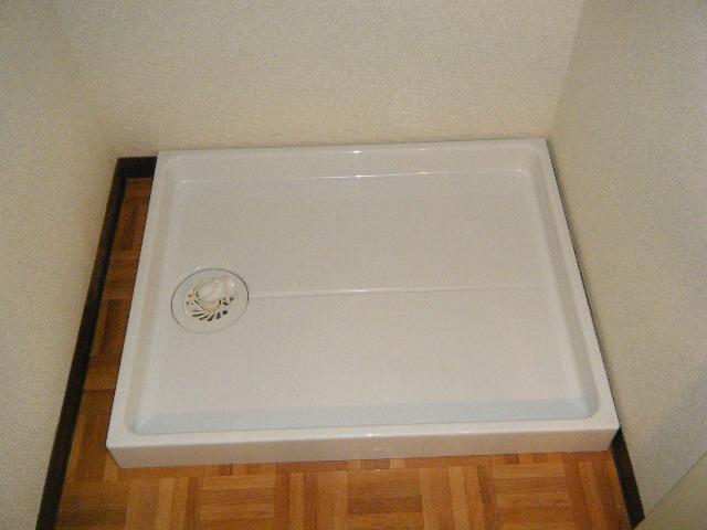 新規洗濯機パン